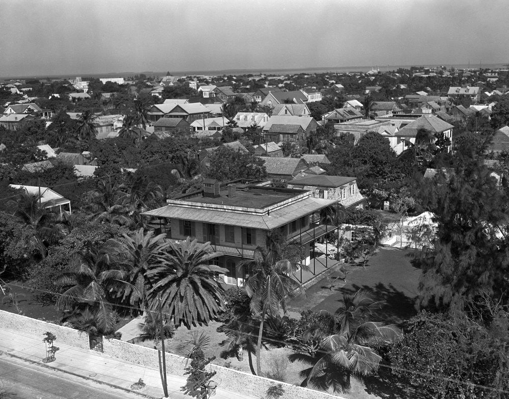 Detail of Ernest Hemingway's Key West Home by Corbis