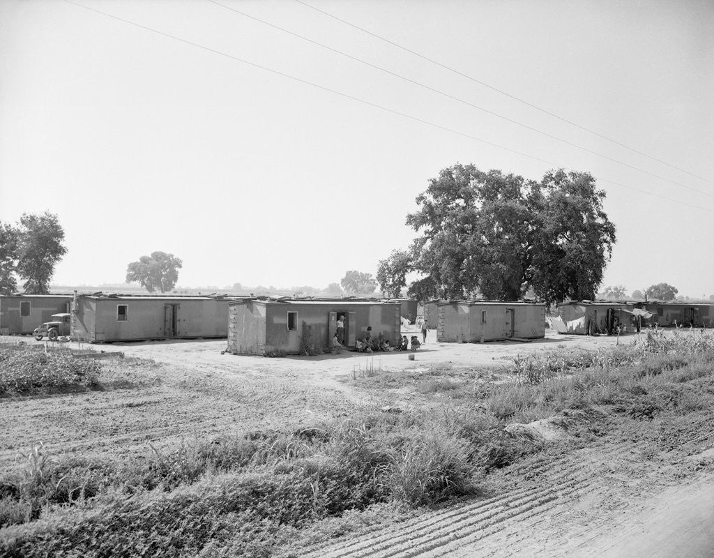 Detail of General View Of Boxcar Shanty Town by Corbis