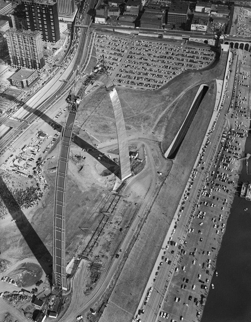 Detail of Aerial View/Keystone Placing;Jeff.Monume by Corbis