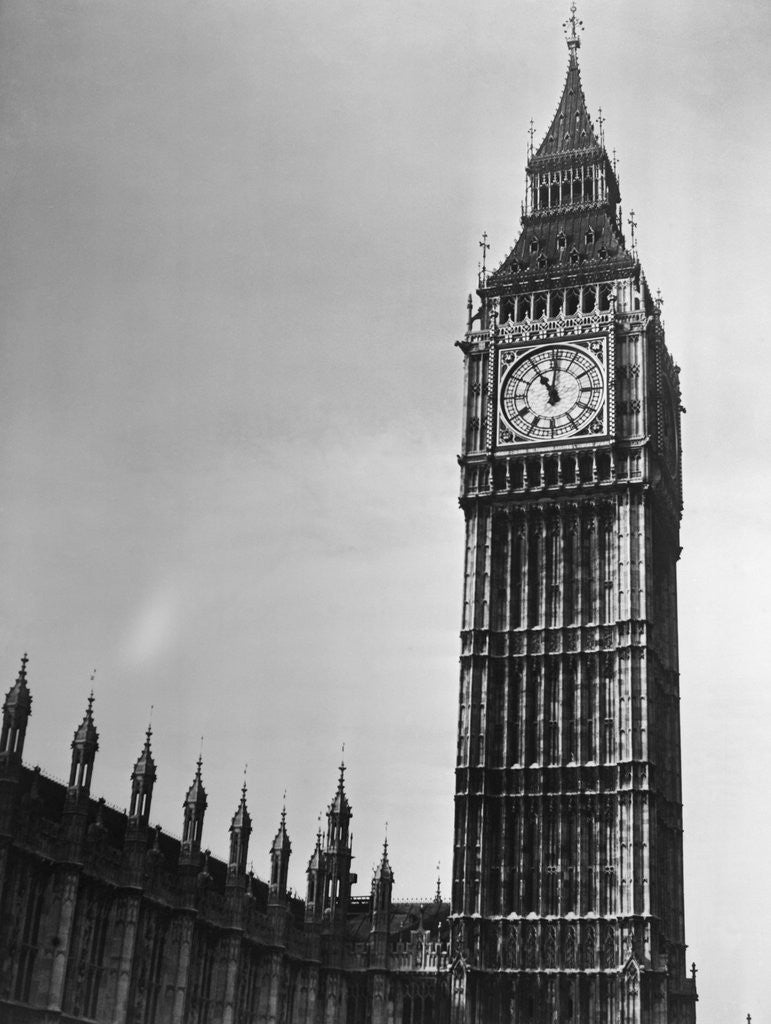 Detail of Big Ben by Corbis