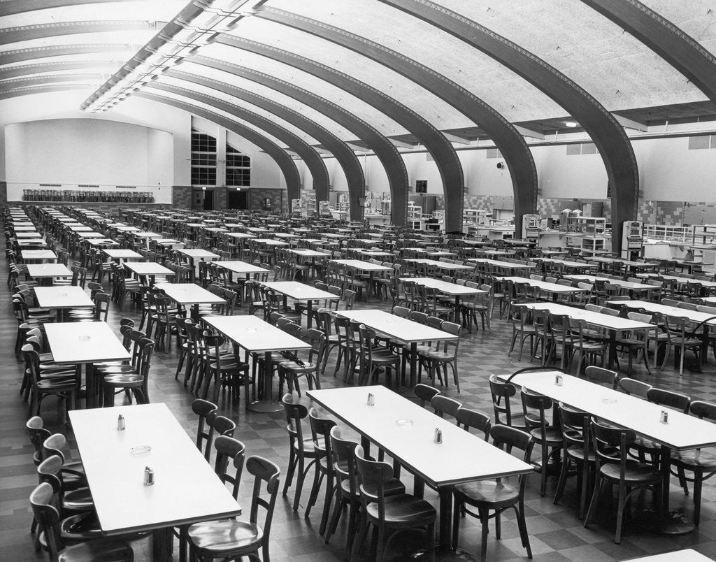 Detail of Boeing Dining Cafeteria by Corbis