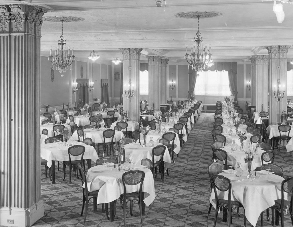 Detail of Empty Dining Room by Corbis