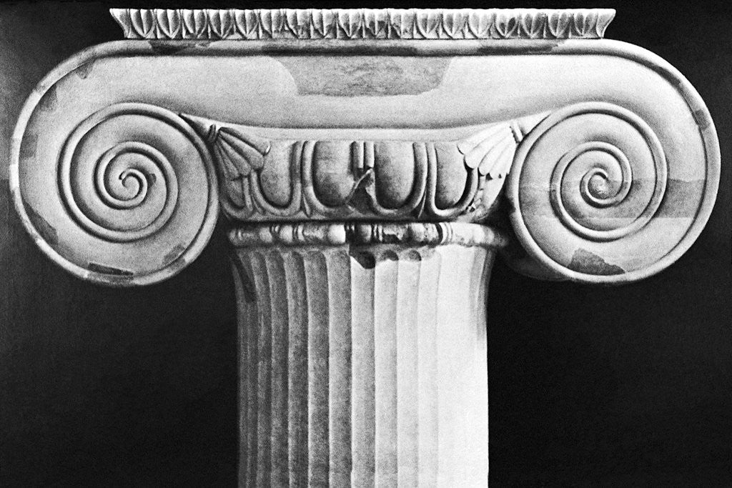 Detail of Column Capital from Temple of Artemis at Ephesus by Corbis