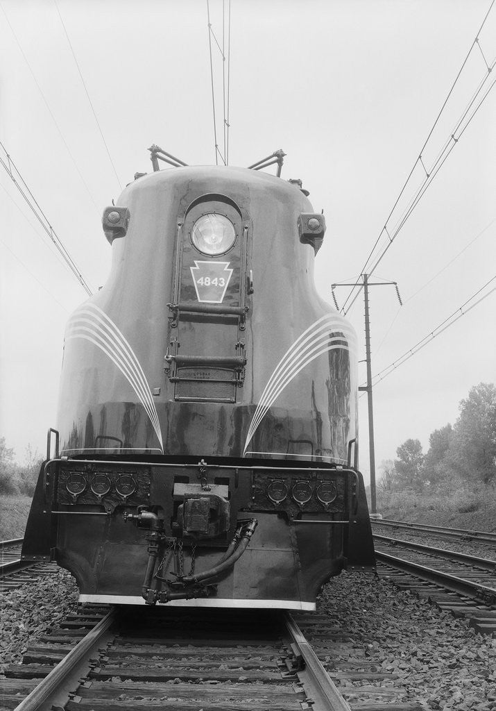 Detail of Electric Locomotive Engine by Corbis