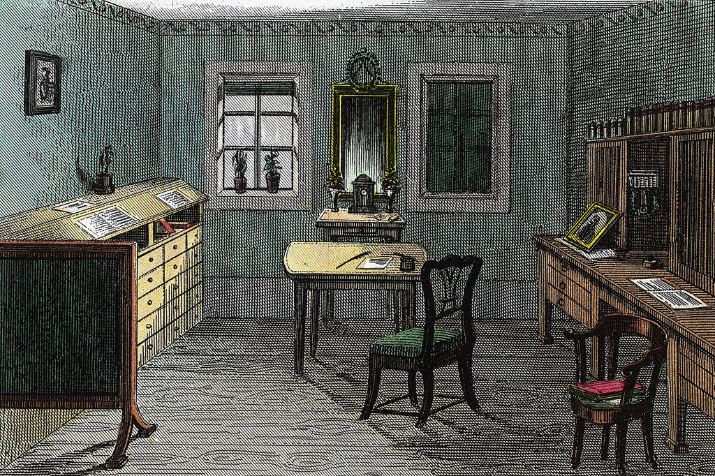 Detail of Goethe'S Study In Weimar by Corbis