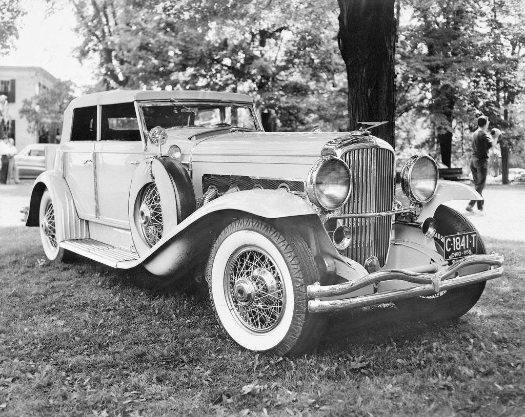 Detail of Duesenberg J Brunn Riviera Phaeton Automobile by Corbis