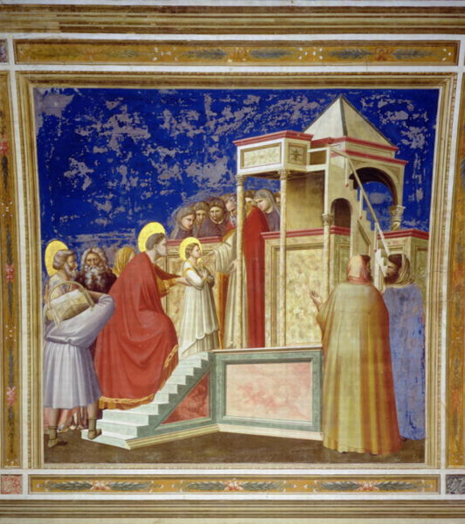 The Presentation of the Virgin at the Temple, c.1305