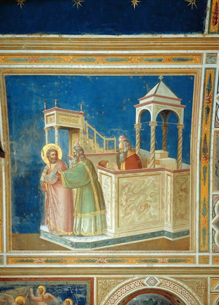 The Expulsion of Joachim from the Temple, c.1305