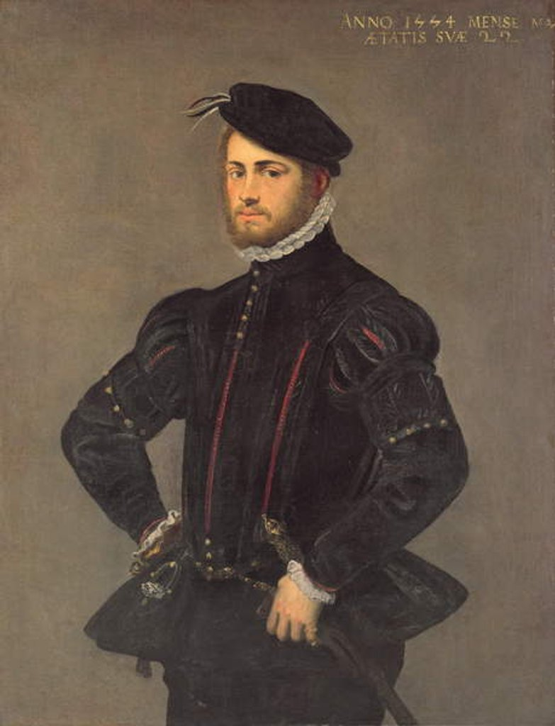 Portrait of a Young Man, aged 22, 1554