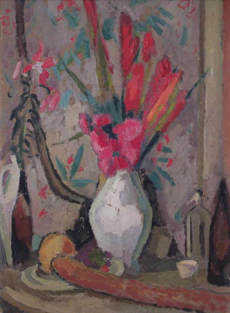 Detail of Red Hot Pokers, c.1916 by Roger Eliot Fry