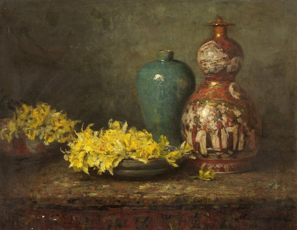 Detail of Daffodils by John Henderson