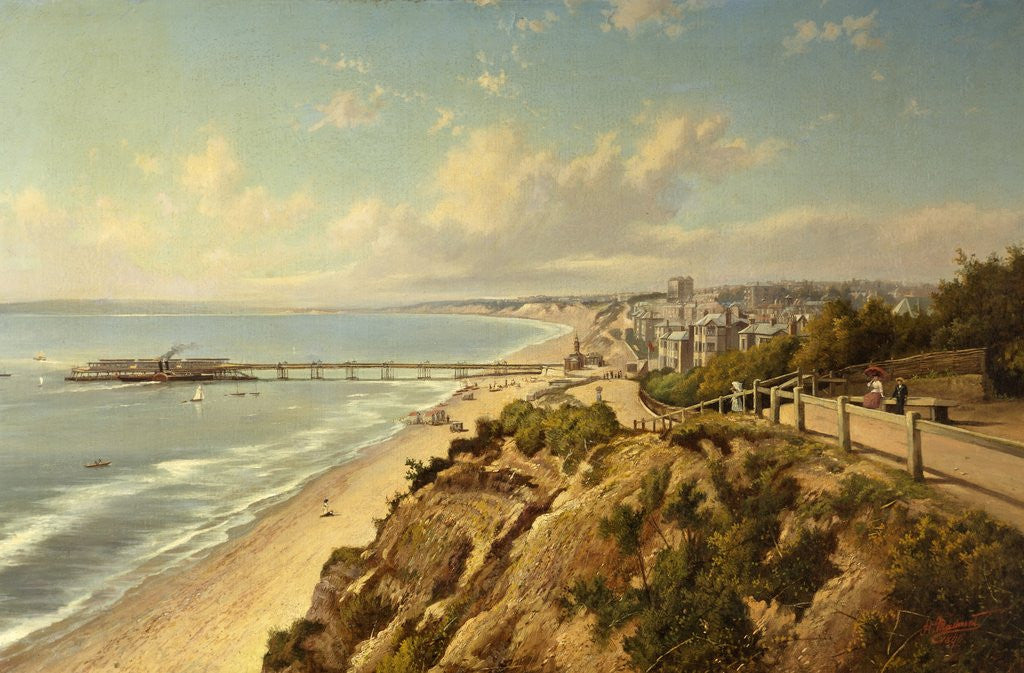 Detail of Bournemouth by the Sea by H. Maidment