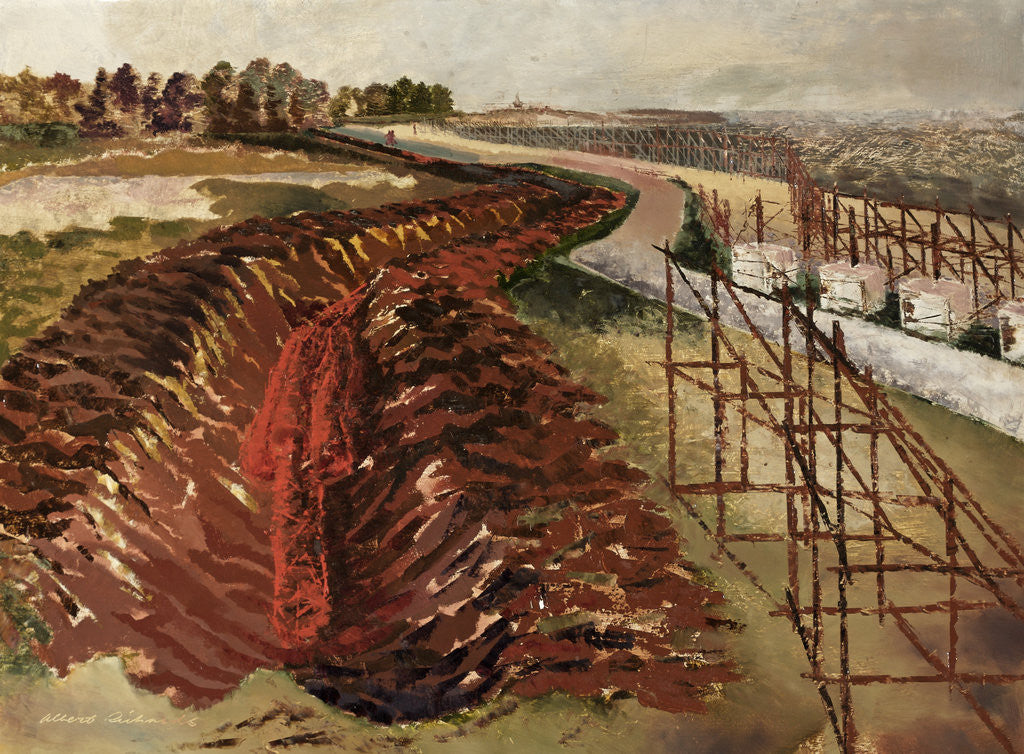 Detail of Anti-Tank Ditch by Albert Richards