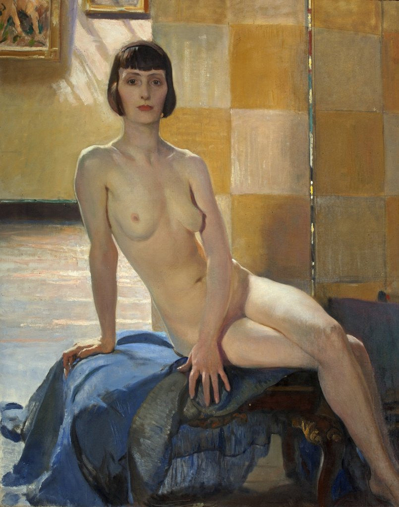 Detail of Sunlight Nude by George Spencer Watson