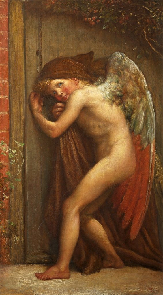 Detail of The Habit does not make the Monk by George Frederick Watts