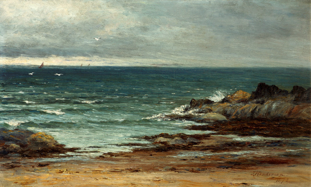 Detail of Seascape by Joseph Henderson
