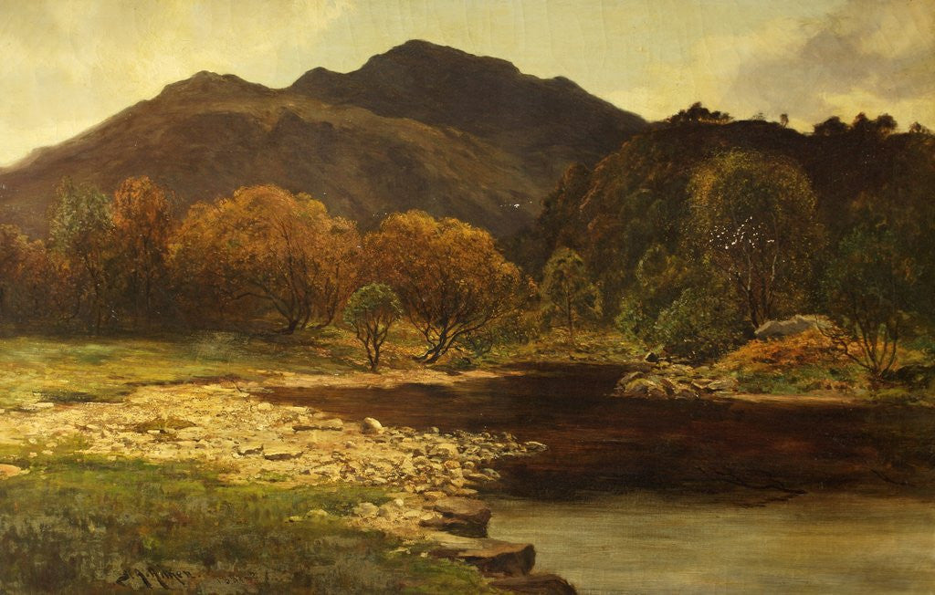 In the Trossachs by James Alfred Aitken