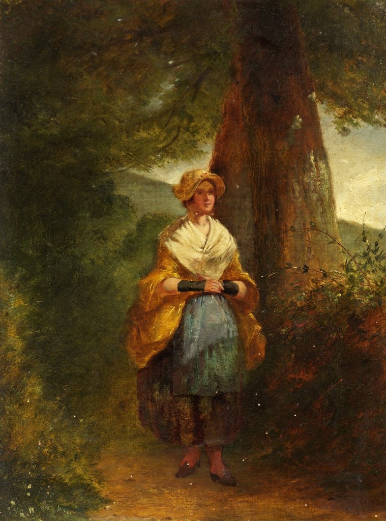 Country Lass by W. Bowman