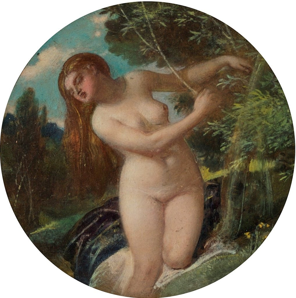 Detail of The Wood Nymph by William Edward Frost