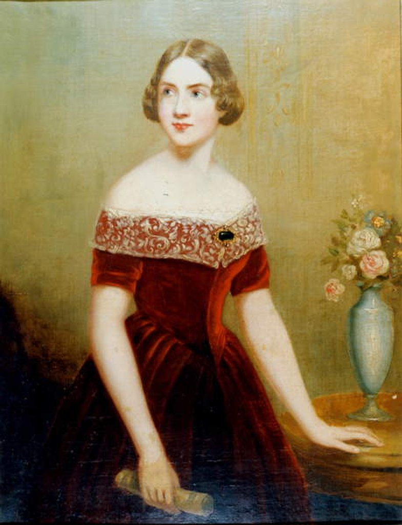 Detail of Jenny Lind by Unknown Artist