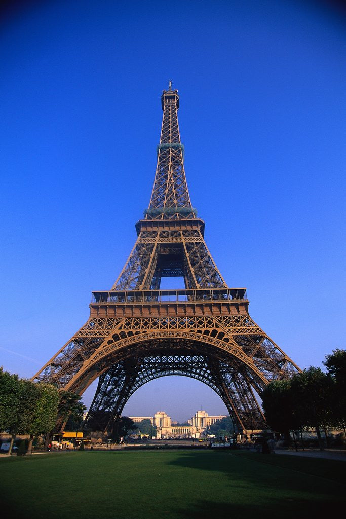 Detail of Eiffel Tower by Corbis