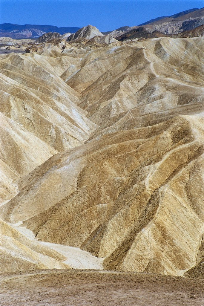Detail of Hills in Death Valley by Corbis