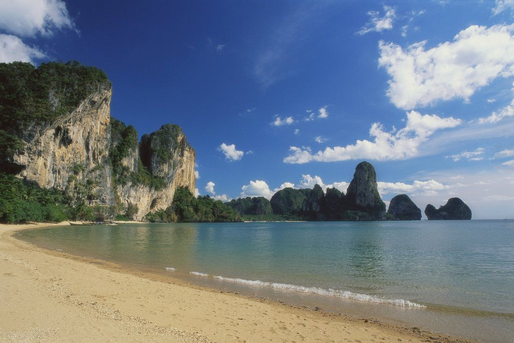 Detail of Beach in Krabi, Thailand by Corbis