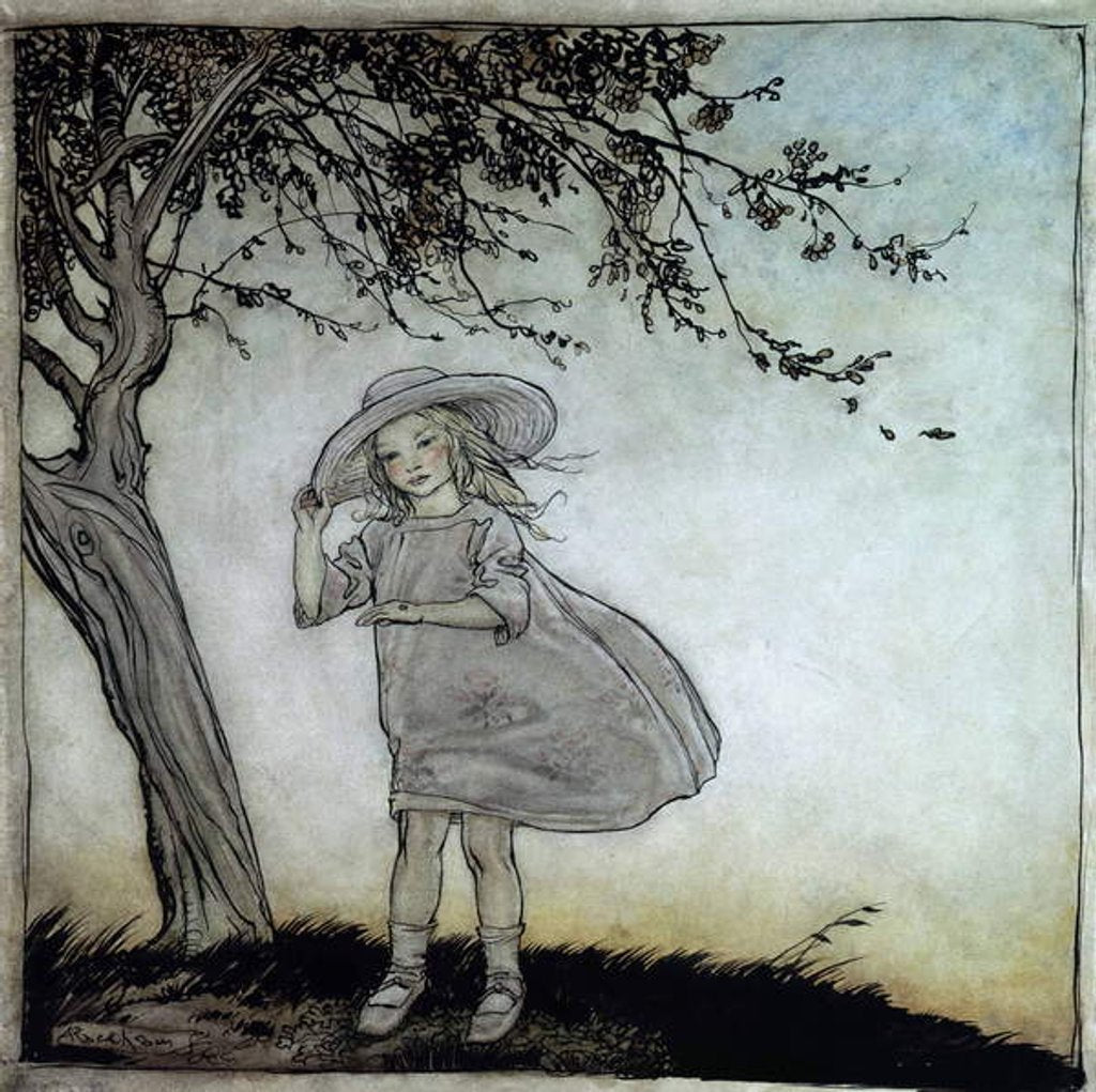 Detail of Ladybird, Ladybird Fly Away Home by Arthur Rackham
