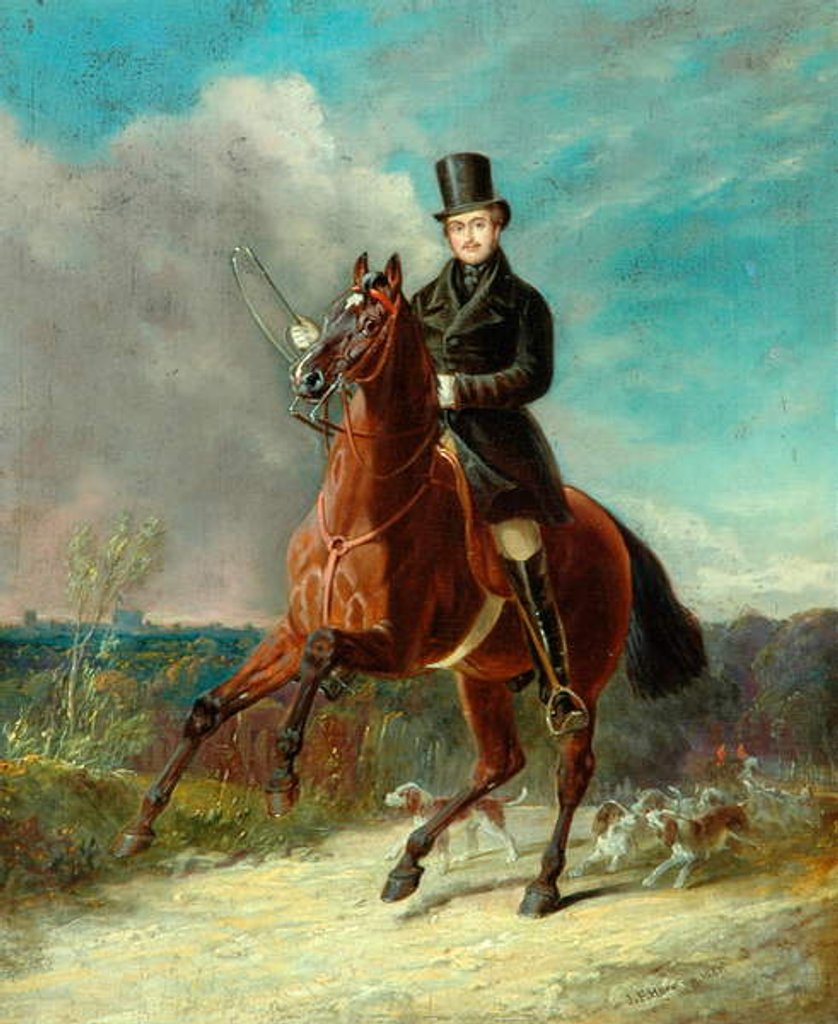 Detail of The Prince Consort On Horseback, 1841 by John Frederick Senior Herring