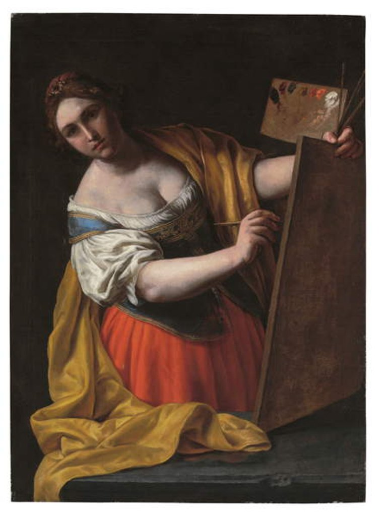 Detail of Allegory of painting by Alessandro Turchi