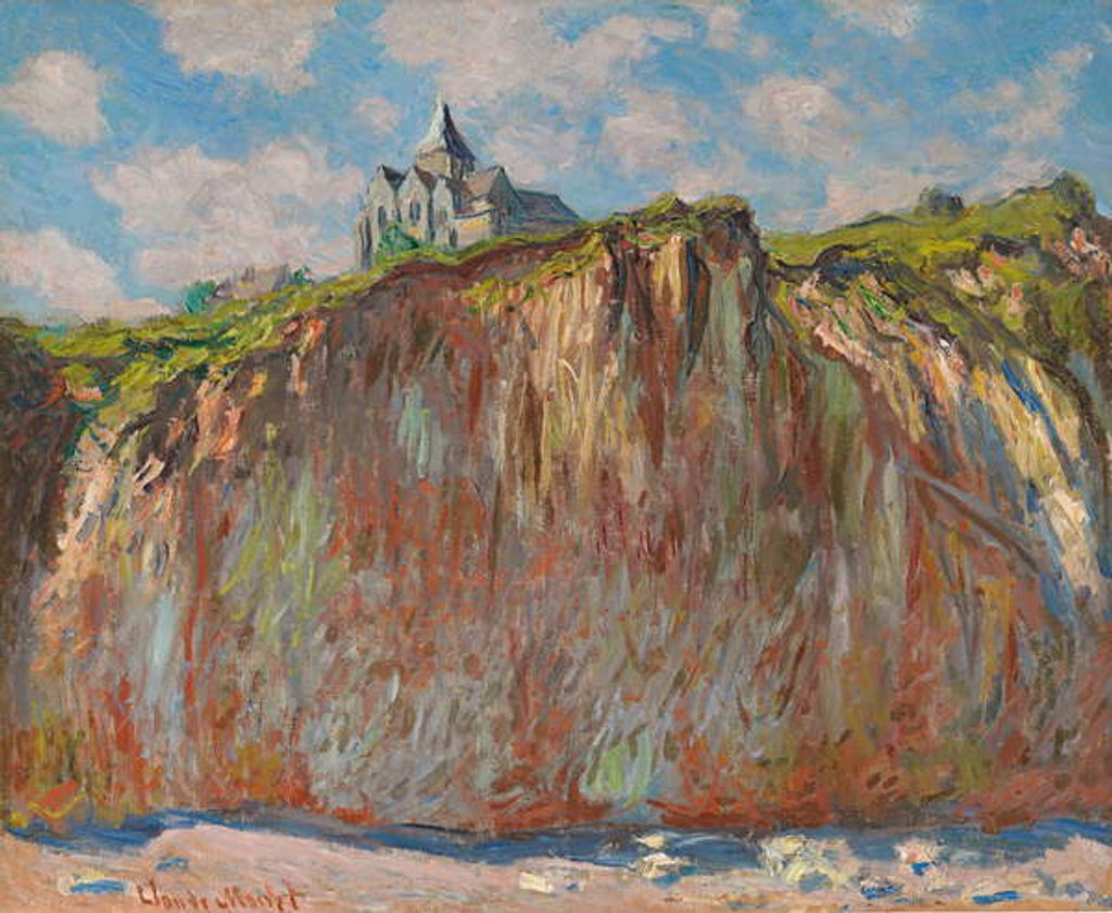 Detail of Church of Varengeville, Morning Effect by Claude Monet