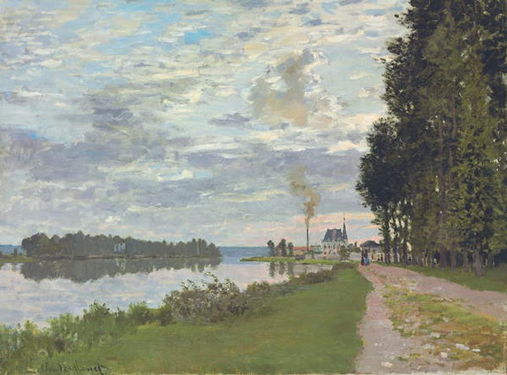 Detail of Le Promenade d'Argenteuil, 1872 by Claude Monet