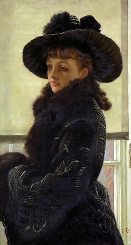 Detail of Mavourneen, 1877 by James Jacques Joseph Tissot