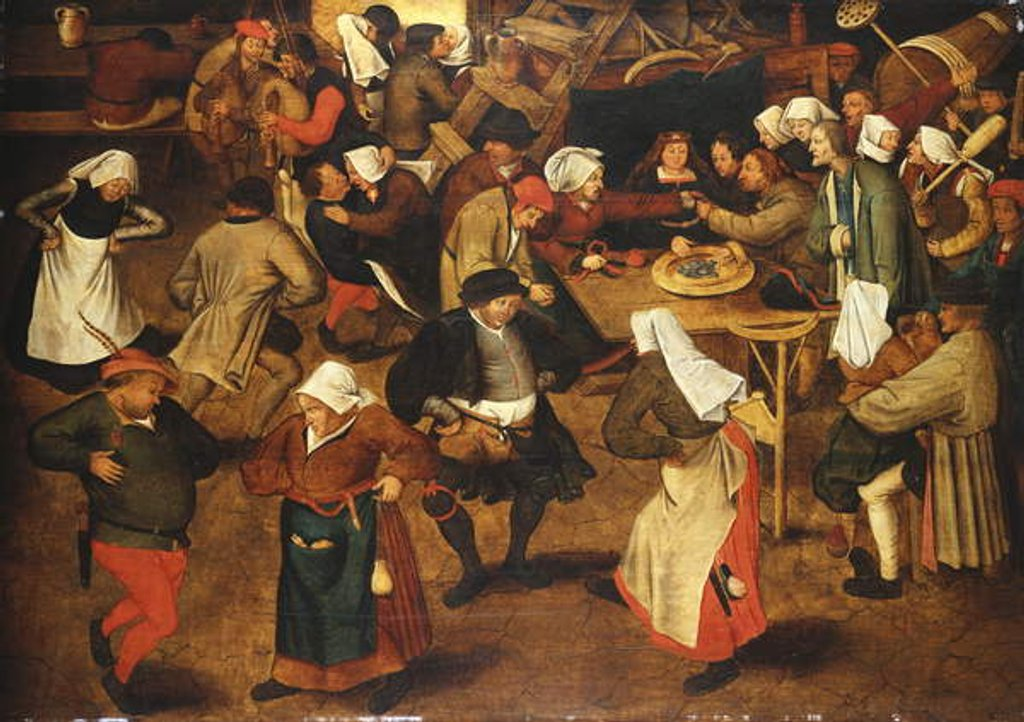 Detail of The Wedding Dance by Pieter the Younger Brueghel