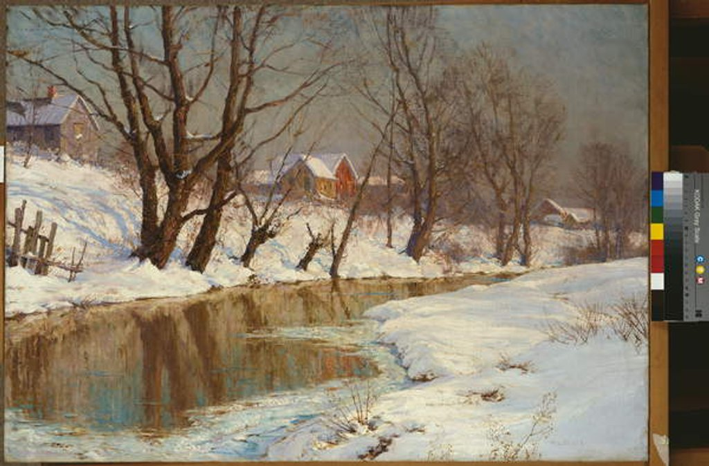 Detail of Winter Morning by Walter Launt Palmer