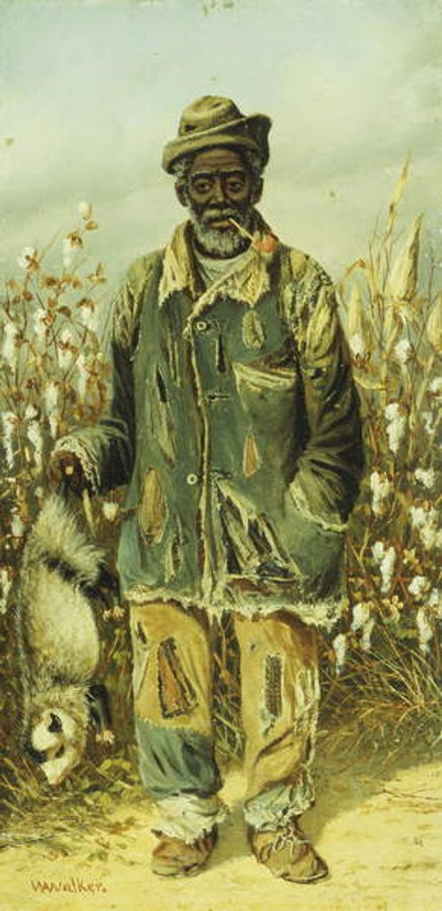 Detail of The Possum Hunter by William Aiken Walker