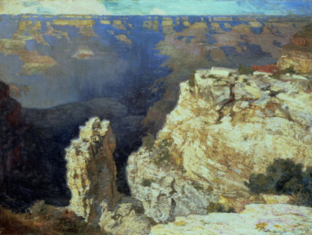 Detail of The Grand Canyon by Edward Henry Potthast