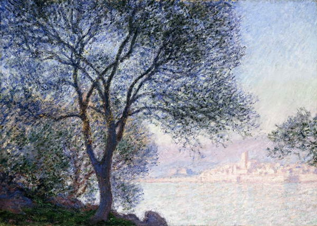 Detail of Antibes seen from the Salis, 1888 by Claude Monet