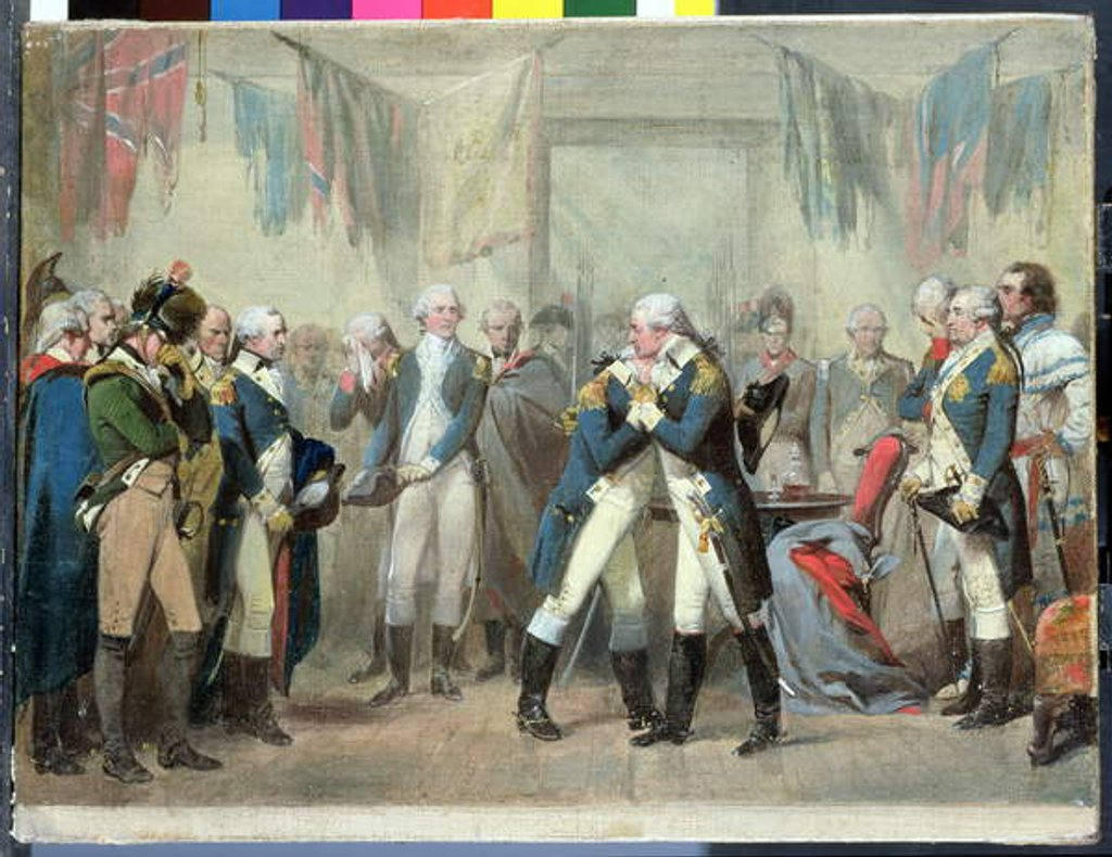 Detail of Washington's Farewell to his Officers by Alonzo Chappel