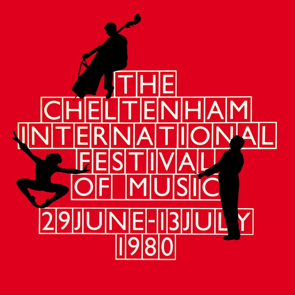 Detail of 1980 Cheltenham Music Festival Programme Cover by Cheltenham Festivals