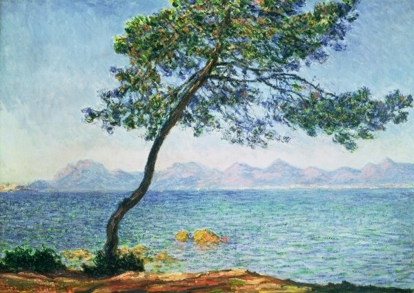Detail of Antibes, 1888 by Claude Monet
