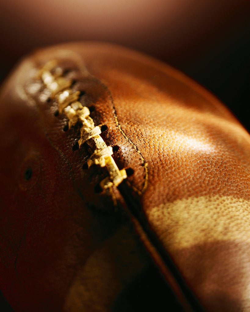 Detail of Football by Corbis
