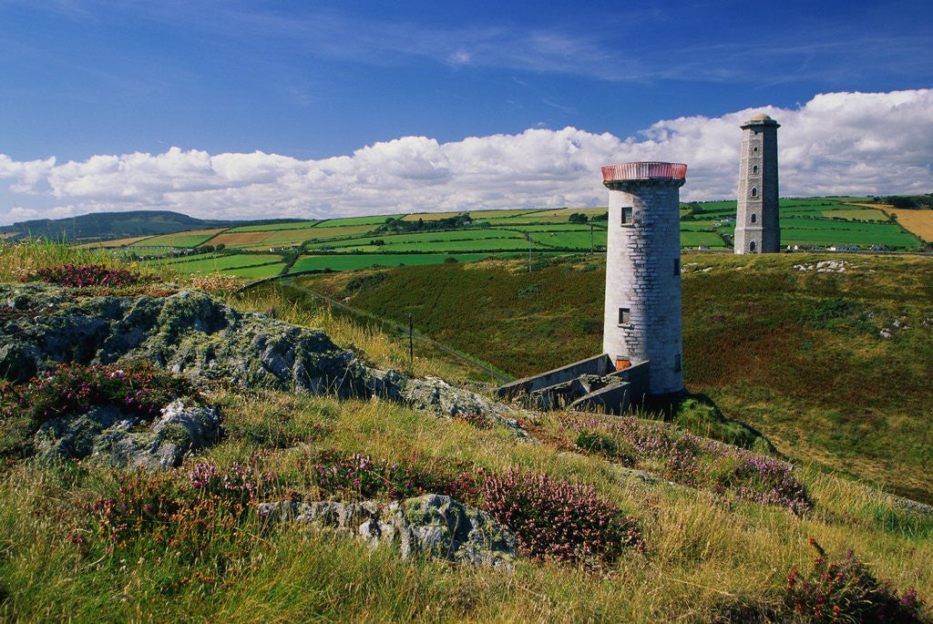 Detail of Wicklow Head Lighthouses by Corbis