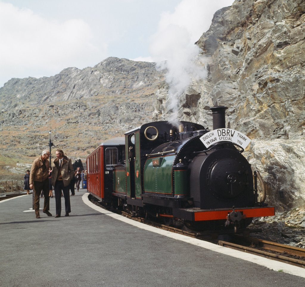 Detail of The Ffestiniog Railway by Anonymous