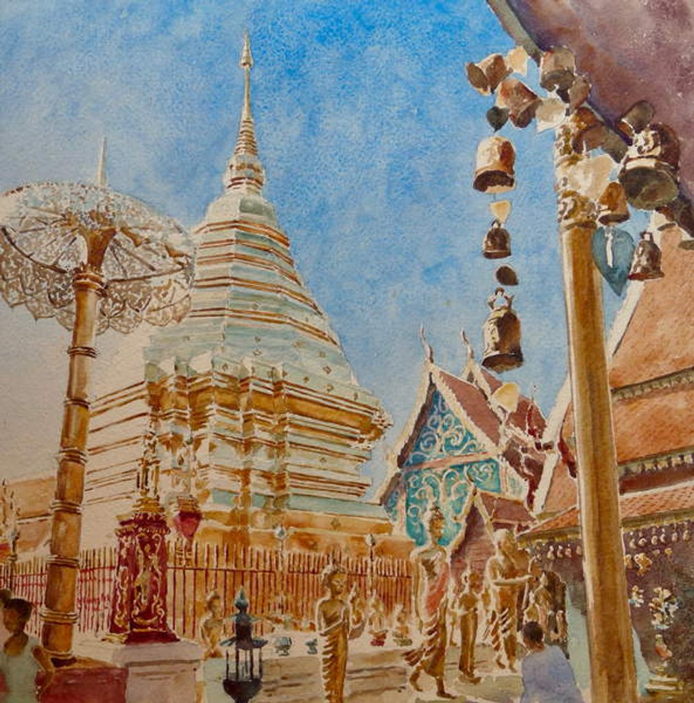 Detail of 875 Doi Suthep, Chiang Mai by Wilson Clive