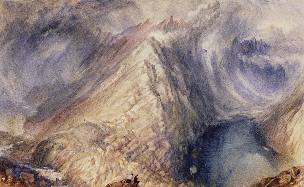 Detail of Loch Coruisk, Skye by Joseph Mallord William Turner