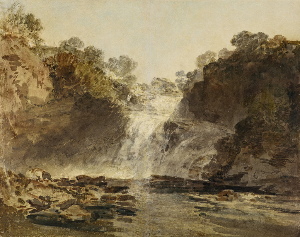 Detail of The Falls of Clyde by Joseph Mallord William Turner