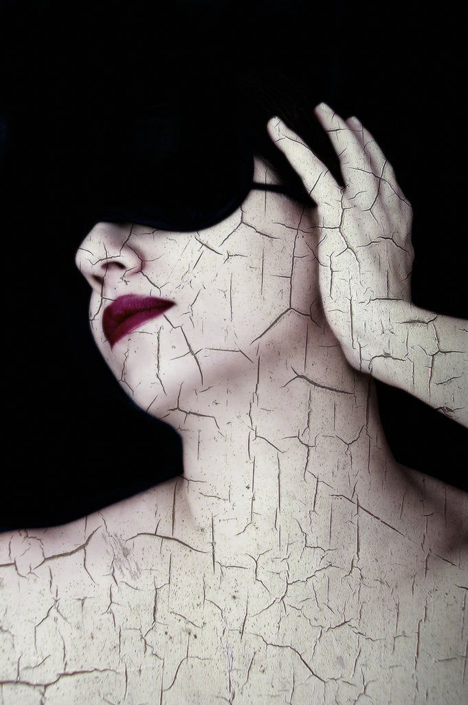 Detail of Cracked by Eugenia Kyriakopoulou
