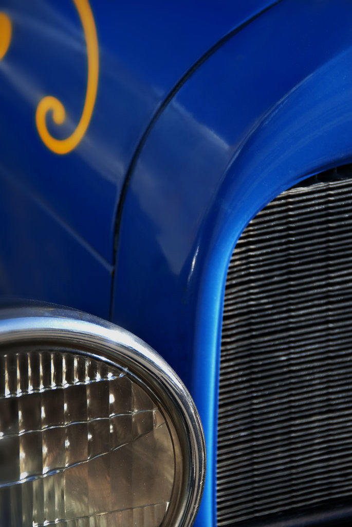 Detail of Old automobile by Ricardo Demurez