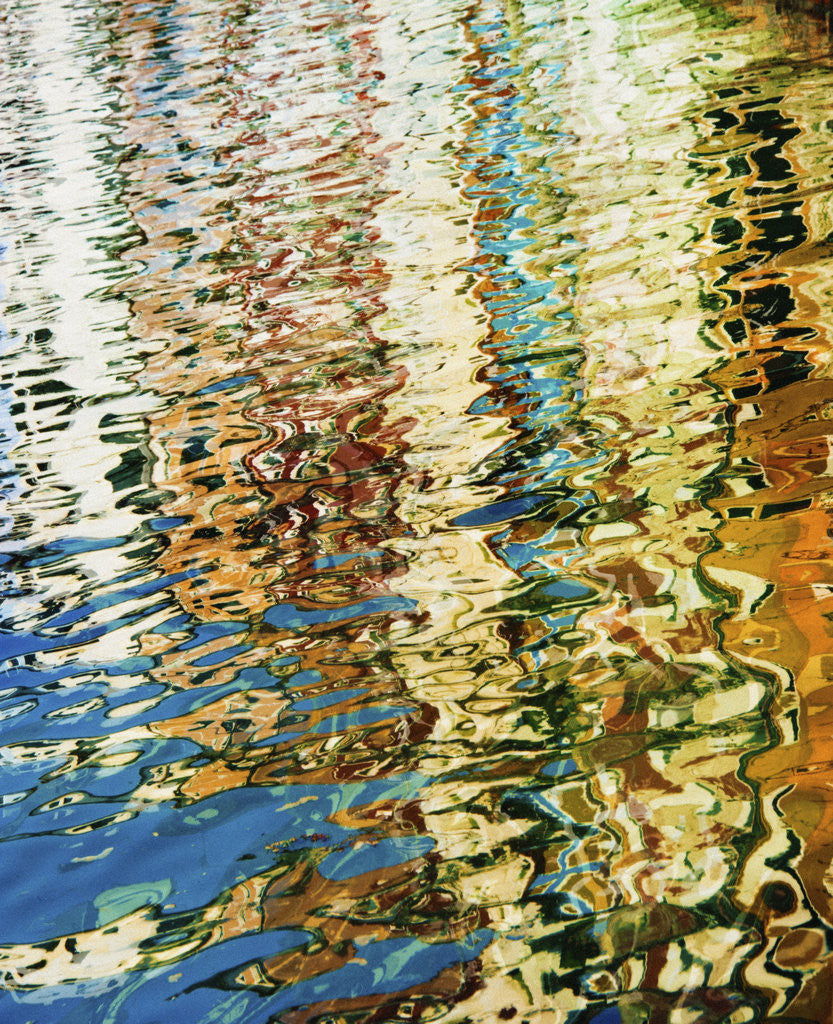 Detail of Venetian Water Colors 8 by Dee Smart